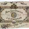 だいたい100年前のステッドラーの鉛筆