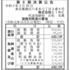 株式会社CINC 第6期決算公告