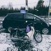 冬は車よりバイクのほうが便利