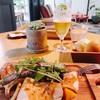 ランチ日記 #69 土曜日都立大学駅でグリルポーク&野菜ランチ  with ビール