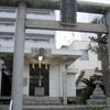 琴比良神社の手すり