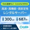 conohawingの料金やデメリットを解説します。【レンタルサーバー】