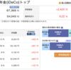 iDeCo運用状況 2019年9月(5週目)