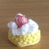 ファーストバイト用に、ケーキっぽい物を作る