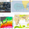 【台風情報】インド洋に(TC07B『GAJA』・96S)と2つの台風のたまごが存在!米軍・ヨーロッパ中期予報センターの進路予想では今のところ『越境台風』とはならず、台風27号とはならない見込み!
