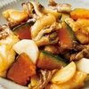 【今日の料理】鶏むねと秋野菜の甘酢あん