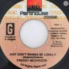 ★新着レコード★Freddie McGregor(フレディーマクレガー) - Just Don't Wanna Be Lonely【7'】