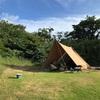 北海道キャンプ旅のお供、テントとタープの話
