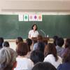 小学校PTA主催講演会で講演をしました