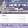 社内報 Spookies Times 始めました