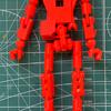 ロボットの骨格を作る 試作8号機