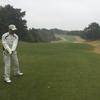 今日は冷たい雨のゴルフでした。