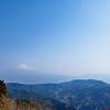 浜石岳で「山と食欲と私」のおふもち焼き