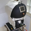 小型の焙煎機(12)耐火シートで保温