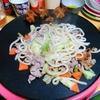 【今日の食卓】クレープ用ホットプレート「クレプレ」で初の焼きうどん