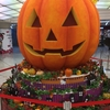 ハロウィンかぼちゃとウインナーカレー。