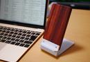 アルミと木製のワイヤレス充電器が最高に格好いい!iPhone8,iPhoneX用のQi充電器をレビュー!