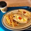 LonCafe横浜ベイサイド店 念願のこだわり卵のエッグサンド🥚