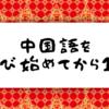 【中国語のすゝめ#11】今日で中国語を学び始めてから1年が経ちました
