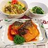 鯖のケチャップ煮 定食