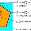 正五角形を描こう