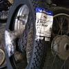 #バイク屋の日常 #ホンダ #スーパーカブ #カブ主 #タイヤ交換 #2.25-17