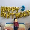 ☆長男坊の3歳の誕生日会☆