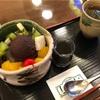 伊勢佐木町の文明堂茶館ル・カフェであんみつ
