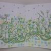 完成】カエルさんページが塗りあがりました☆幸せのメヌエットより