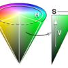 RGBカラーコードで明度・彩度・色相を変更する