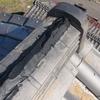 台風の修理は大変だけど、和型の瓦を触れるのが楽しい。