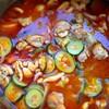 チキンとズッキーニのトマト煮