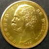 イタリア1883年ウンベルト1世100リレ金貨 が到着しました