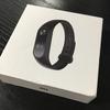 Xiaomi mi band2のレビュー!LINE通知もくるし睡眠のデータも取れる優れものです!