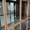改装工事 2018/06 建具入る、出窓側シンクコンロ台設置