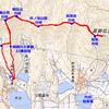 兵庫県高砂市の高御位山(299.7m)馬の背尾根から往復