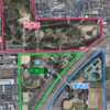 久宝寺緑地。大阪4大緑地のひとつ。ゴムチップ舗装のランニングコースを備えた、東大阪ランナーの聖地。春先ランは、BBQに要注意!!