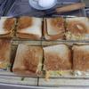 幸運な病のレシピ( 1814 )昼:サンドイッチ、鶏の唐揚げ