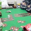 『ザ・ゲーム』『レジスタンス・アヴァロン』『フォーセール』『シャドウハンターズ』『横暴編集長 ニンジャ記念日』『ラブクラフト・レター』で遊んだ(薄墨色ボードゲーム会)