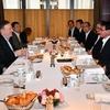 ポンペオ国務長官と河野外務大臣が「パワーブレックファスト」したホテル