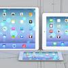 12.9インチ大画面iPadのコンセプトデザイン現る、9.7インチiPadやMacBook Airとの大きさ比較