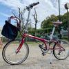おりたたみ自転車の可搬性能を高めたい 【リクセンカウル ショッパーミニ&キャディ】