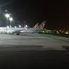 成田~ドーハ~ローマ カタール航空807便 QSuites搭乗記