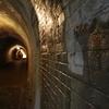 宇津ノ谷隧道、流石に明治のトンネル、煉瓦造りの隧道