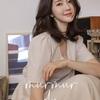 韓国の女性たちのファッション,春のワンピースを着るモデル