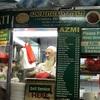 Azmi restaurantのチャパティ、モッチモチ。