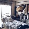 夏仕様のベッドルーム