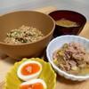 今日の夕食 鳥取県のスタミナ納豆!