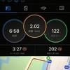 レースペース走2km+Eペース走6km