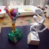 紙粘土着彩と色あそび